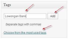 tag wordpress